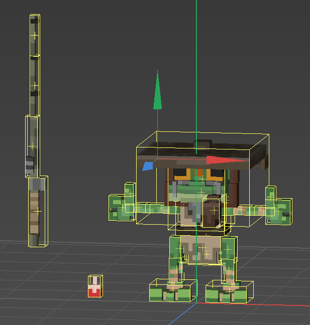 Gamasutra: Zach Soares's Blog - Voxel Art: Reducing the Greebles